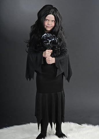 Kinder Halloween Morticia Kostüm Large (11-13 years) (Morticia Kostüm Zubehör)