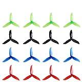 DroneAcc 16 Piezas 5045 3 Palas Propellers 5 Pulgadas...