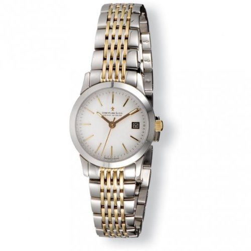 Dreyfuss & Co DLB00005/02 1890 Ladies Two Tone Swiss Dress Watch