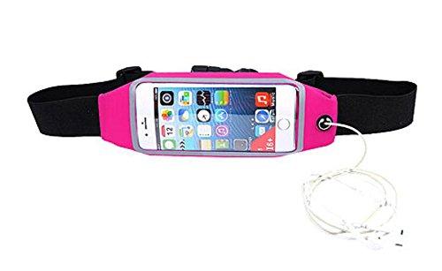 ZYT Handy Taschen Sport im freien Handy Taschen Taschen mit mobilen Männer und Frauen Brieftaschen Red
