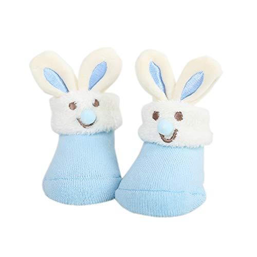 18a527a57f23 Chaussettes Bébé Garçon Bébé Fille d Automne et d Hiver Epais Anti-Glissant