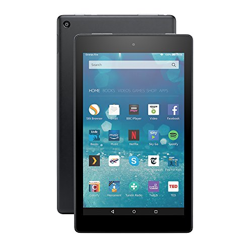 "Fire HD 8 Tablet, 8"" HD Display, Wi-Fi, 32 GB (Black) - Includes Special Offers"
