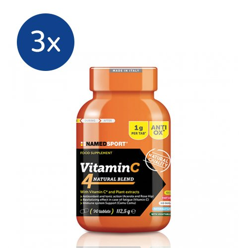 NAMEDSPORT 3x Vitamina C Natural Blend 90 tabs - 41tir4e1iyL