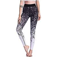 Preisvergleich für Frauen Yoga Gym Hosen Activewear Strumpfhosen Workout Knöchel Leggings, kreativer Stil Design Geeignet für Yoga, Laufen, Fitness, Outdoor Work etc