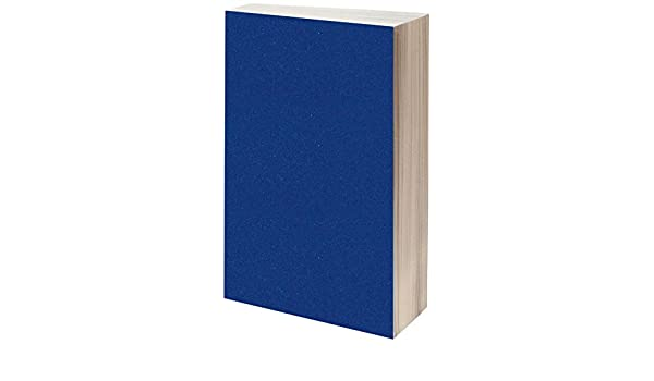 Linea Hogar Deco S.L. Bleu Marine Adhesif Velours 45Cmx1,5M Couleur