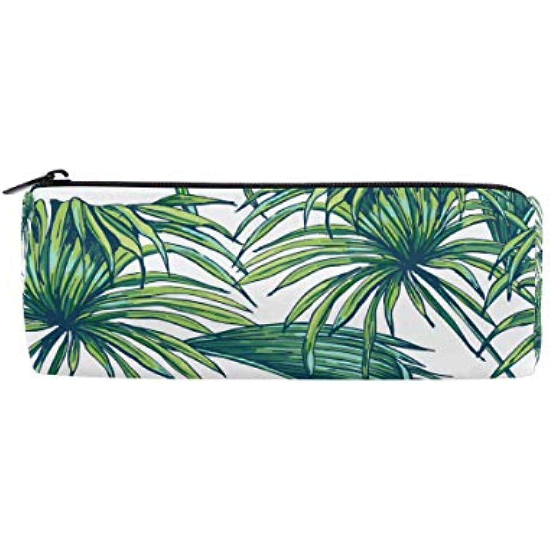 Wowprint Wowprint Wowprint Trousse à crayons avec fermeture Éclair Motif feuilles tropicales de palmier et feuilles tropicales b6ad7f