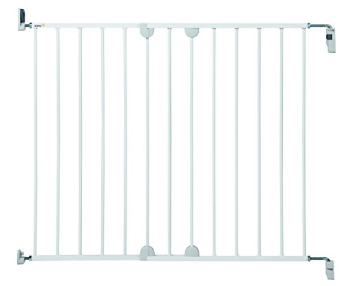 Safety 1st Wall Fix Extending Treppenschutzgitter, erweiterbar bis zu 102 cm ohne seperate...