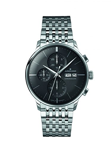 Mens Junghans Meister Chronoscope Automatic Chronograph Watch 027/4324.44