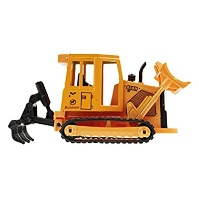 Greenery New Child Excavator Toy Caterpillar Ride On Boys Kids Construction Digging Dig Truck/Children's Birthday Christmas Day Gift Excavator /Sand Toy Excavator For Kids