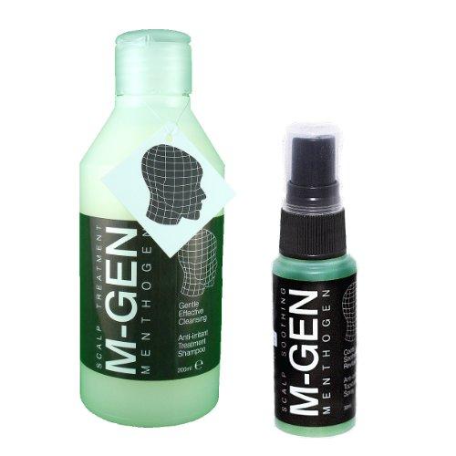 menthogen Shampooing (200ml) et spray (30ml) pour les peaux irritées juckende Tête Cuir Chevelu Sec. Peau Démangeaisons Traitement Remède. Pour les démangeaisons du cuir chevelu. Utilisez, Si vous à une tête les irritations Grave. Traitement pour certains types de perte de cheveux–Force de traction Alopécie. Produit de Luxe Optimiser l'état des cheveux et cuir chevelu. Enrichi de caféine. En raison de la Historique verlorenen envois postaux nous ne envoyer de pièces avec LIVRAISON SUIVI pour votre confort et sécurité. teurer? Oui. meilleure Service clients? Oui.
