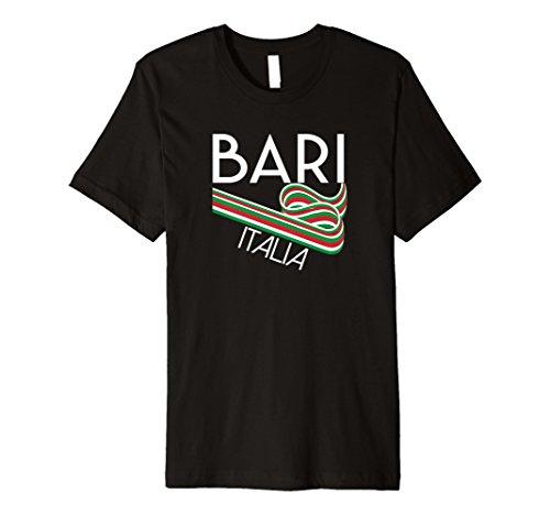 Bari Italia T Shirt Retro-Stil italien Souvenir Kleidung