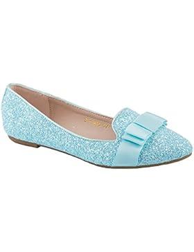 Ideal Shoes–Slippers Paillette e N & # x153; UD Elia