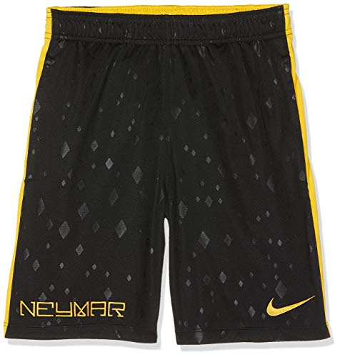 51a58f06 Nike Jungen NYR B NK DRY ACDMY Shorts, Schwarz (Black/Yellow),