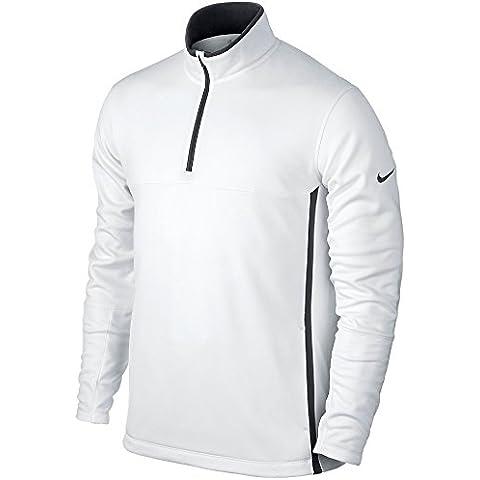 Nike, Maglione da golf termica in pile Uomo, con mezza cerniera