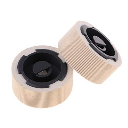 Unbekannt Homyl 2pcs Drucker Einzugsrollen Papier Pickup Roller für Lexmark Optra T650 / T652 / T654, Ersatz für 40X4308 - Optra Farbe