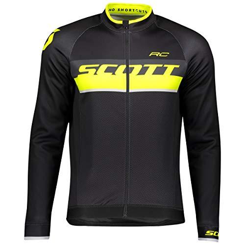 Scott RC AS WP Winter Fahrrad Trikot schwarz/gelb 2019: Größe: XL (54/56)