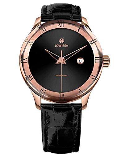 Jowissa Romo Swiss J2.199.L - Reloj para Hombre, Color Negro y Rosa