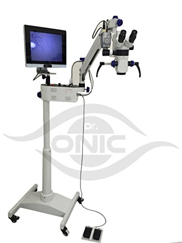Dr.Onic Mikroskop, 3 Stufen, Boden-Typ, 90° Fernglas, LED-Bildschirm, HD-Kamera, Strahl-Splitter Bereich 5.2-grad-strahl