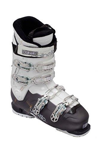 DALBELLO ASPIRE 75 LS - Scarponi da sci da donna, colore: nero/trasparente/bianco