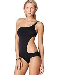 best service e6028 a0f09 Amazon.it: costume donna monospalla - Mare e piscina / Donna ...