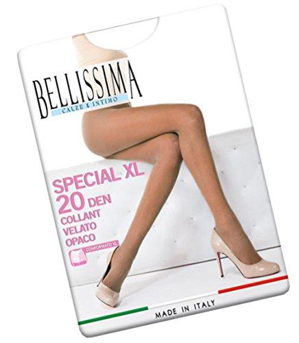 COLLANT DONNA BELLISSIMA ART SPECIAL 20 COLORE E MISURA A SCELTA (4, VISONE)