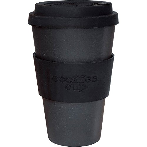Ecoffee Fibre de bambou biologique Tasse à café-Noir - 400 ml