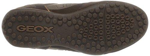 Geox U Snake Q Herren Sneakers Braun (C6004CHESTNUT)