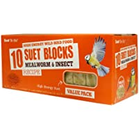 Suet to Go Blocks Mealworm & Insect Value 10 Pack SS179