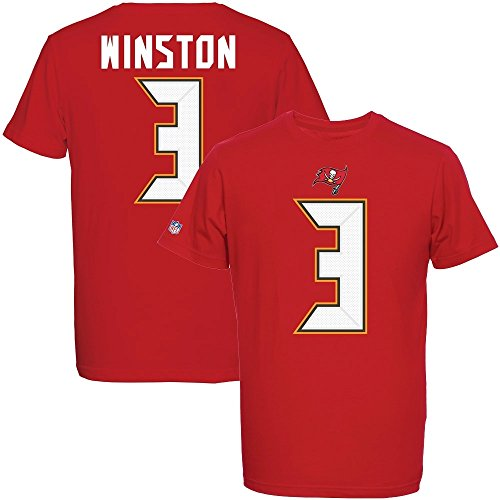 NFL T-Shirt TAMPA BAY BUCCANEERS Jameis Winston #3 rot Eligible Receiver in MEDIUM (M)