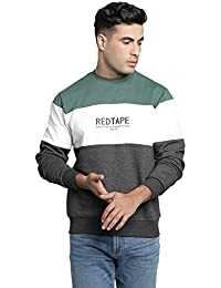 Red Tape Men's Casual Cotton Blend Sweatshirt