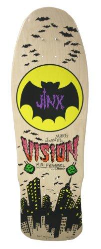 Vision Jinx Mini Neuauflage Skateboard Deck 24,1x 74,9cm, BD0V32-natural, Natur, 9.5 x 29.5-Inch