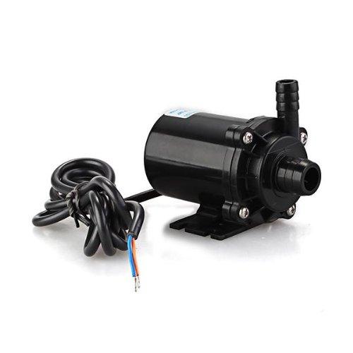 Zimo® 12V DC Tauchpumpe Wasserpumpe Luftpumpe für Aquarium Tank Garten Brunnen Teich Pflanzen 460LPH