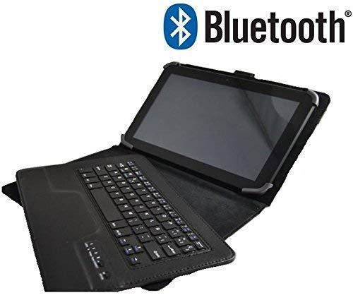 Theoutlettablet® Funda Teclado Bluetooth Extraíble