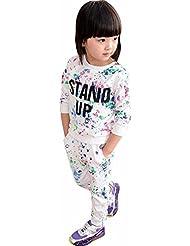 Vovotrade -Niño- Niña suéter manga larga + Pantalón