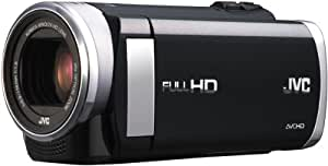 JVC GZ-EX210BEU Full-HD Camcorder (1,5 Megapixel, 7,6 cm (3 Zoll) Display, 40-fach opt. Zoom, HDMI, WiFi, USB 2.0) schwarz