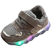 LED Schuhe, cinnamou Kinder Leuchtend Licht Luminous 7 Farben Sportschuhe Led Kinder Farbwechsel Sneaker Outdoor Leichtathletik Turnschuhe für Jungen Mädchen