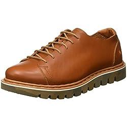 Art 1407 Becerro Cuero/Toronto, Zapatos de Cordones Brogue para Hombre, Marrón, 42 EU