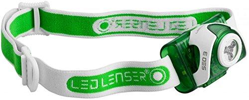 LED LENSER SEO3Stirnlampe grün grün