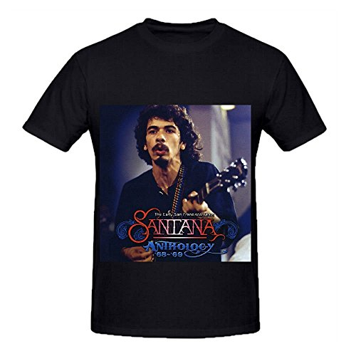 Santana The Anthology '68 '69 Early San Francisco Years 80s Casual T Shirt XX-Large
