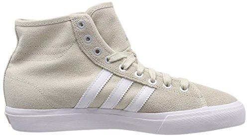 adidas Herren Matchcourt High RX Gymnastikschuhe Braun (Clear Brown/ftwr White/clear Brown)