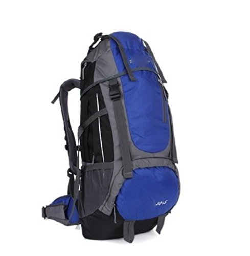 Sport All'aperto Camping Escursionismo Zaino Impermeabile Sacchetto Zaino Per Trekking In Viaggio,Orange Blue
