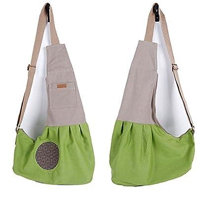Shoulder Carry Handbag for Pets - AntEuro Portable Hands-free Pet Foldable Travel Carrier Bag, Sling Shoulder Bag for… 2