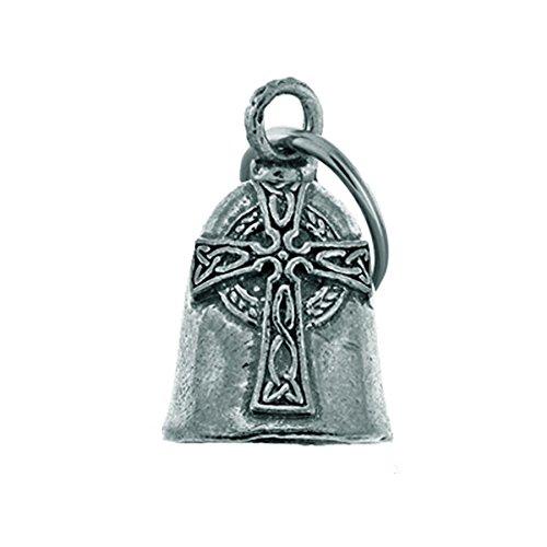 Glöckchen Flagge Keltische Kreuz Keltischer Glücksbringer Glocke motorrad Guardian Bell Biker