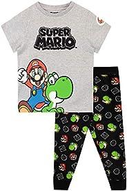 Super Mario Pigiama a Maniche Lunghe per Ragazzi