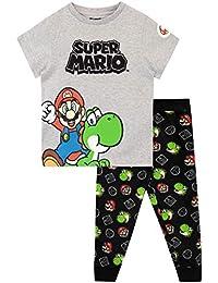 Super Mario Pijamas de Manga Corta para Niños