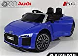 #8: MYWHOLESALE Audi R8 Spyder for Kids 1-4 Age Group Officially Licenced , Blue