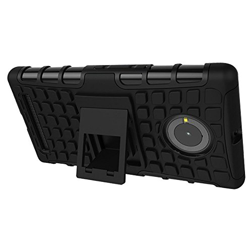 Kaira brand Rugged Armor Kickstand Hybrid pc(plastic) + Tpu(silicon) Back cover for Micromax Yu Yuphoria Mobile