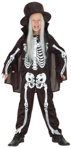 Boland 86967 - Kinderkostüm Skelettjunge, Gröߟe 128 - 140