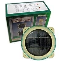 Solar ventilador interno Marine Caravan funciona con energía solar Vent