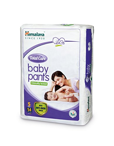 Himalaya Total Care Small Size Baby Pants Diapers (54 Count)